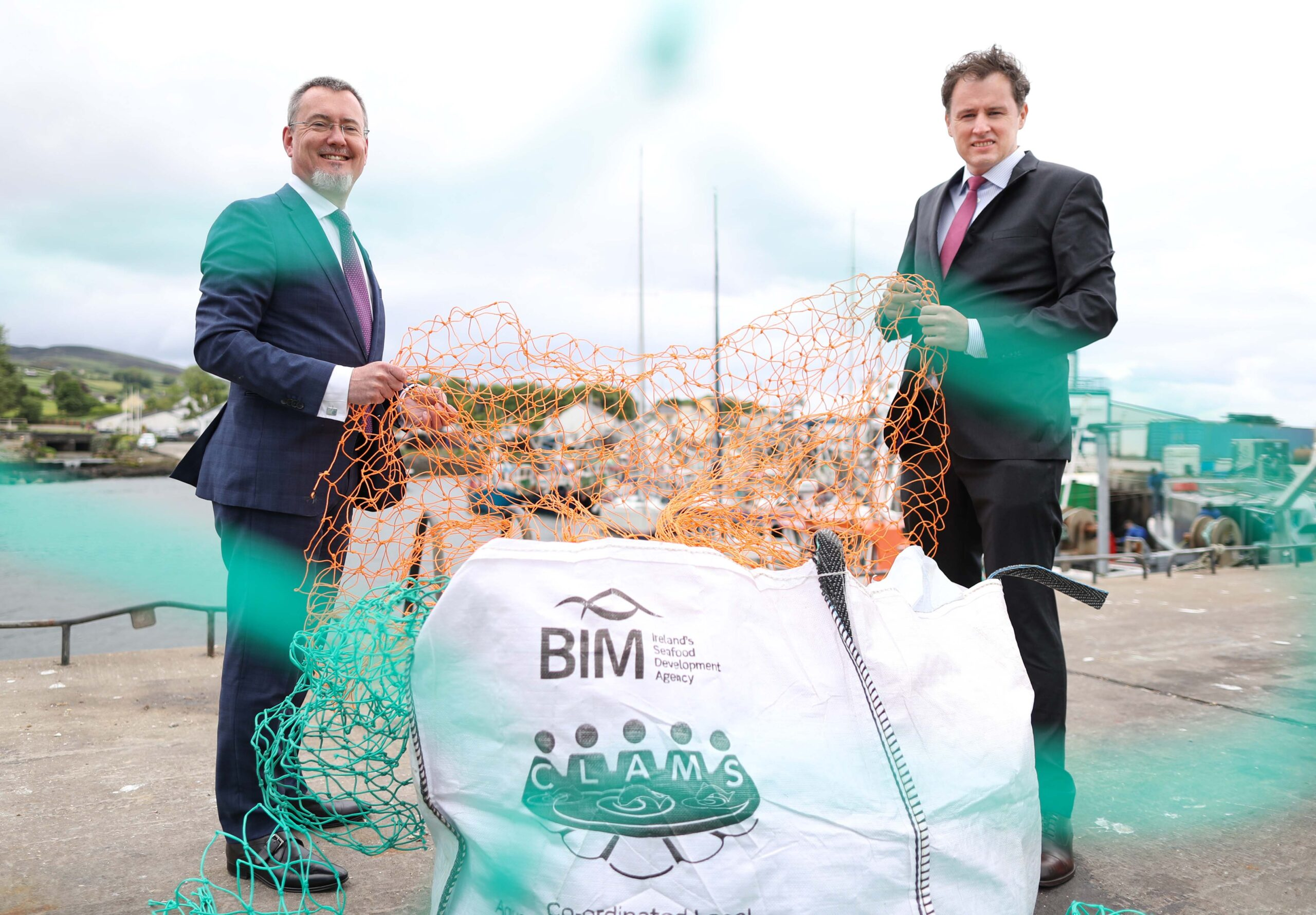 Minister McConalogue announces over 600 tonnes of marine waste collected by Ireland's seafood sector since 2015