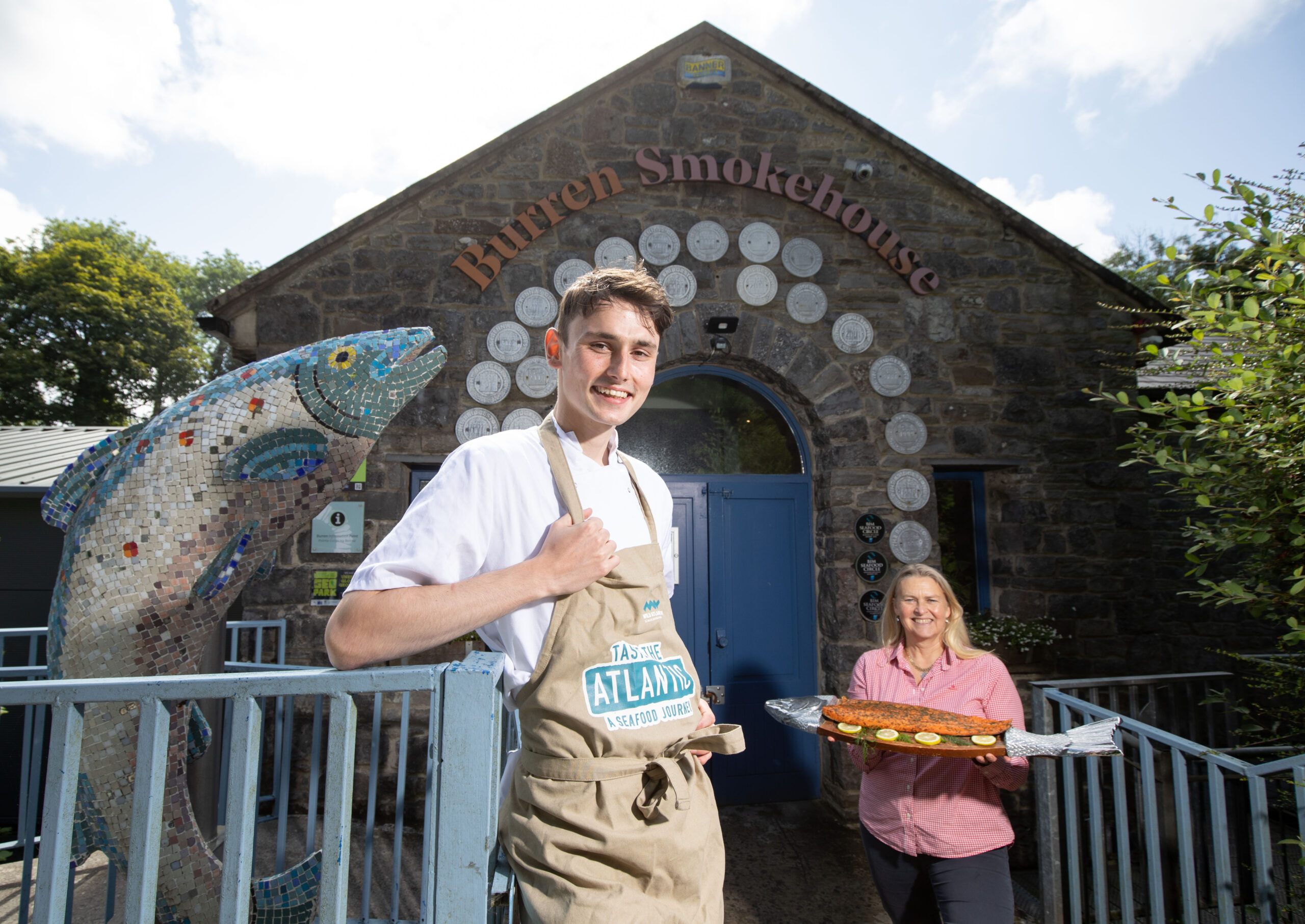 BIM Young Chef Ambassadors begin their own Taste the Atlantic Seafood Journey